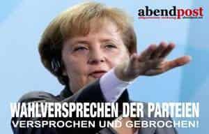 Bundestagswahl, Landtagswahl, Wahlbetrug, CDU, CSU, SPD, GRUENE, BUENDNIS 90, AFD