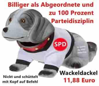 Wackeldackel, SPD, Martin Schulz, Schulz, Horst Seehofer, Seehofer, Groko, Grosse Koalition, CDU, CSU, SPD, Merkel, Bundeskanzler, Bundeskanzlerin, SPD-Chef